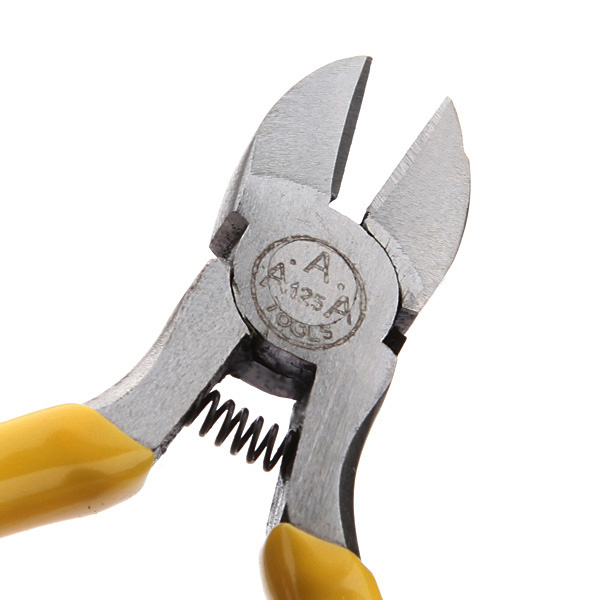 Garden Electrical Repair Tool Hard Cutting Plier Yellow Side Wire Cutter Plier