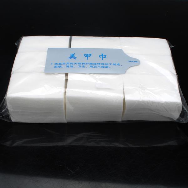 900pcs Nail Polish Gel Cotton Remover Wipe Pads