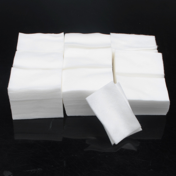 900pcs Nail Polish Gel Cotton Remover Wipe Pads