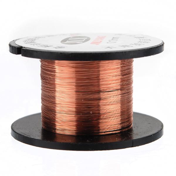 0.1mm Copper Soldering Solder PPA Enamelled Reel Wire Roll 15m New