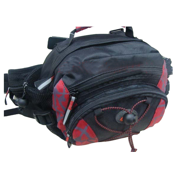 Specifications: Taiwan CBR multi-functional pockets is simple and can be placed on waist and tilted back. volume: 8L Colour:black and red Size:21CM(height)*25CM(length)*15CM(thickness) (due to irregular in shape, measuring the inevitable error, hereby ins #purse