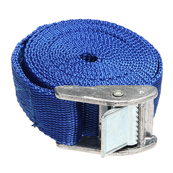 Cam Buckle Tie Down Heavy Duty Quick Lock Cargo Lash Belt