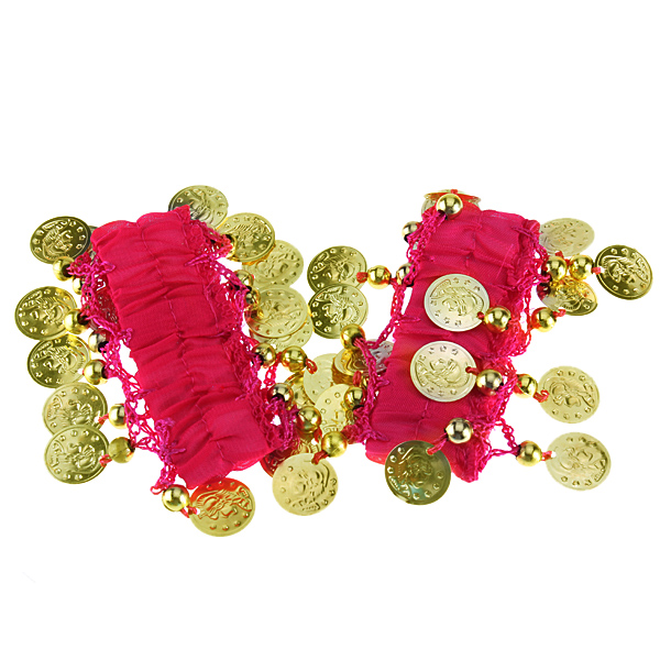 Belly Dance Dancing Wear Wrist Ankle Arm Cuffs Bracelets