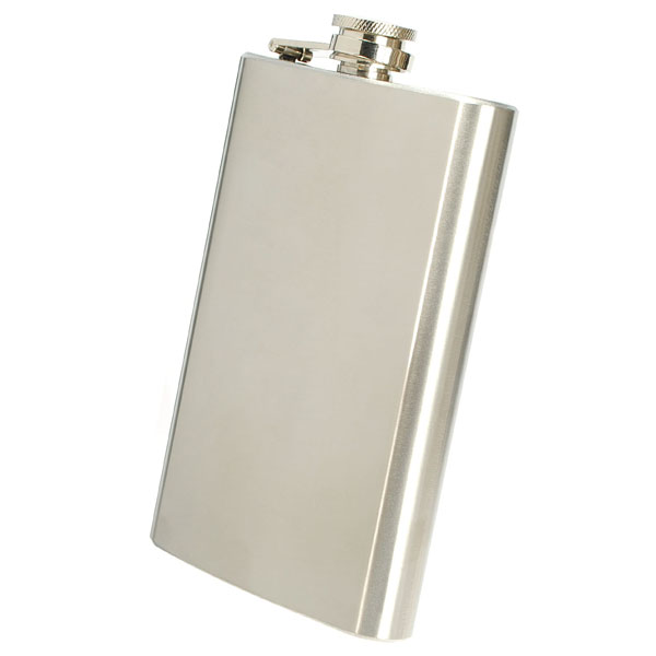 10OZ Stainless Steel Pocket Whisky Liquor Hip Flask With Funnel