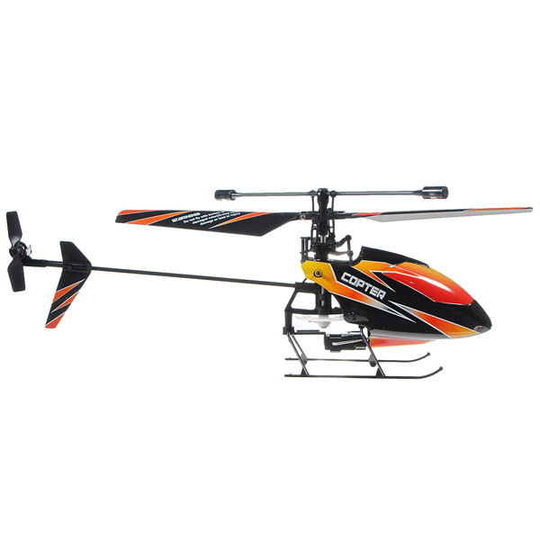 WLtoys V911 2.4GHz 4CH Remote Control RC Helicopter with Gyro Mode 2 - Photo: 5