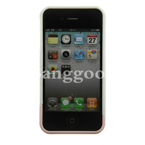 Premium Freedom of Assembly Design Snap On Case For iPhone 4