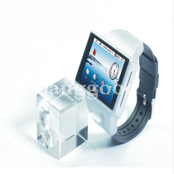 Z1 Smart Android 2.2 Watch Cell Phone WITH GPS WIFI 2.0 Capacitance Screen