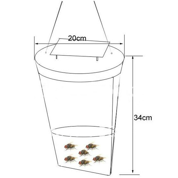 Disposable Flies Killer Fly Mosquito Trap Liquid Traps Pest Control