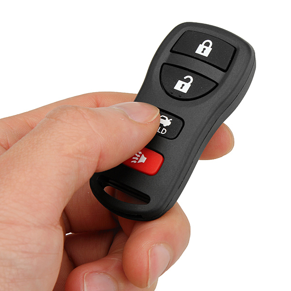 Key-less Entry Key Remote FOB Shell Case for Nissan 4 BUTTON