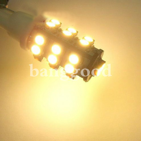 T10 W5W 26 SMD LED Wedge Car Warm White Bulb Light