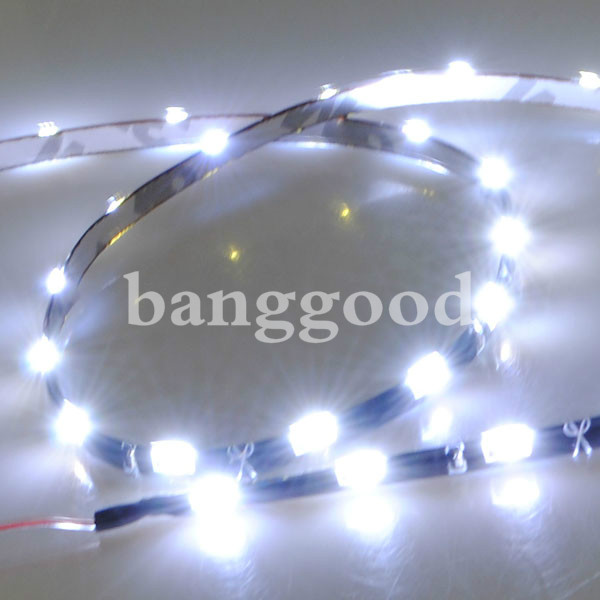 Xenon White Blue Red Side Shine 30SMD LED Strip Lights for Audi