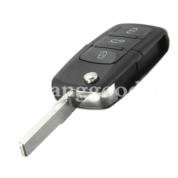 Flip Remote Key Case Shell for VW Golf Passat Polo Jetta Touran