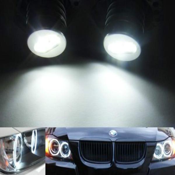 BMW E90 E91 325i 328i 335i 4D 05-09 Angel Eyes LED Marker White 6W