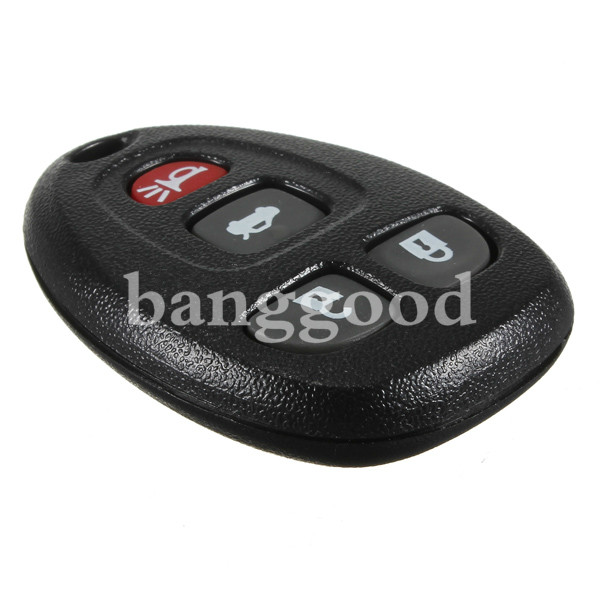 4 Buttons Remote Key FOB Keyless Entry Case for GM Pontiac Buick