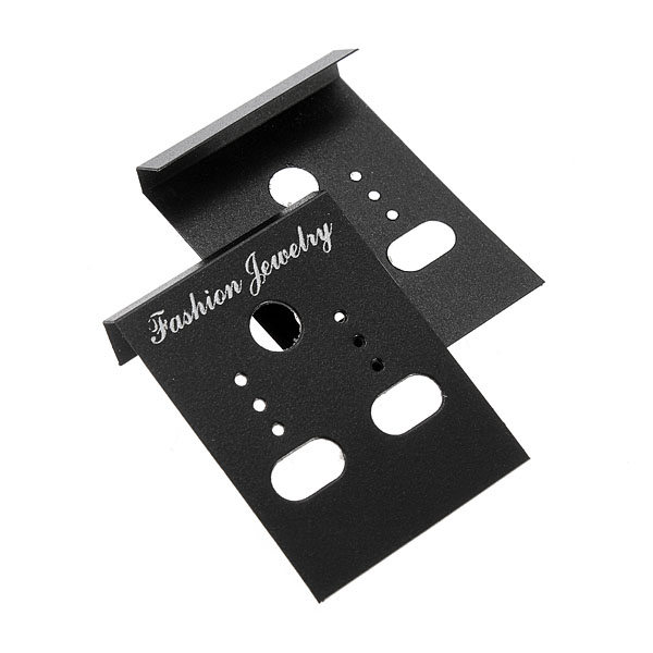 100 Pcs Jewelry Packaging Plastic Earring Studs Holder Display Cards