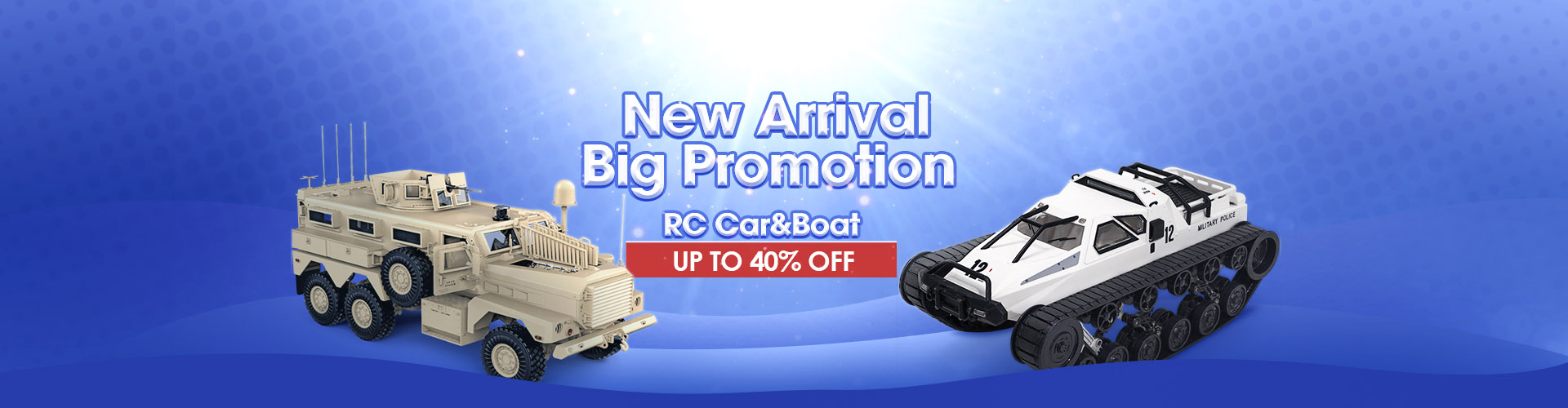 RC Car Boat New Arrival Promtion 10% OFF