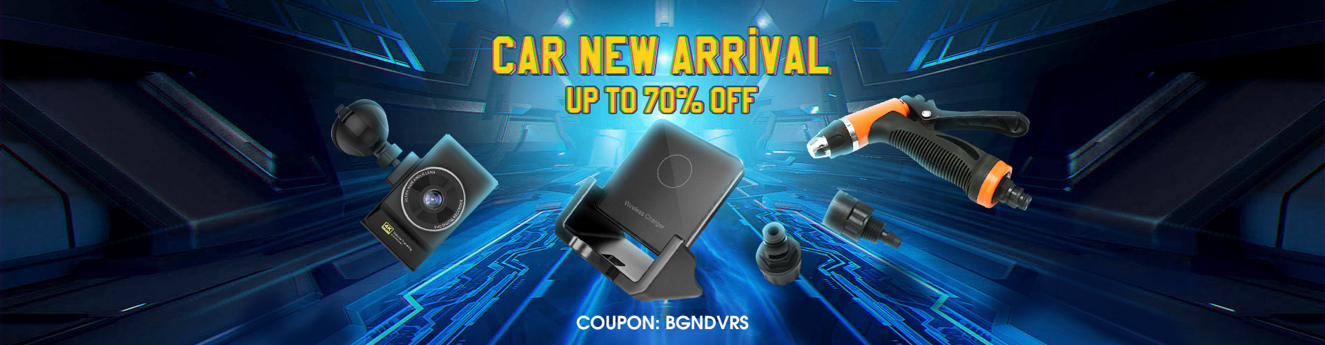 15% OFF for Car New Arrival