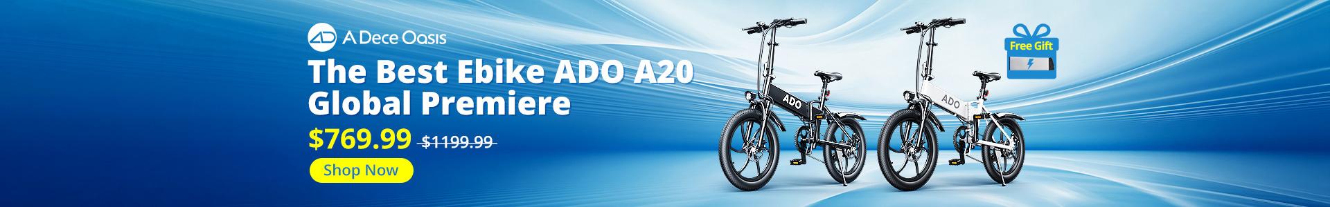 The amazing bike ADO A20