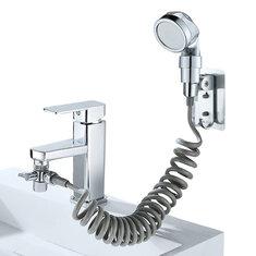 6Pcs Bathroom Basin Water Faucet Tap External Shower