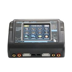 HTRC T240 DUO AC 150W DC 240W 10A Touch Screen Dual Charger