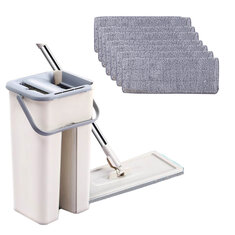 [CZ Stock] Spray Automatic Spin Mop Fiber Cleaning Cloth