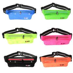 BUBM Waterproof Sport Waist Belt Bag Pack Pocket Purse Running Jogging Pouch
