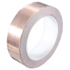 30mmX20m Copper Foil Tape Single Conductive EMI Shielding Adhesive
