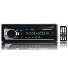 12V Car in Dash BT Stereo Radio Head Unit 1 Din MP3 Player AUX FM