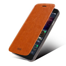 Mofi Rui Case PU Leather Flip Open Holder Case For TCL P620m