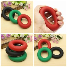 Hand Massage Grip Finger Trainer Exerciser Gripper Muscle Gripping Ring