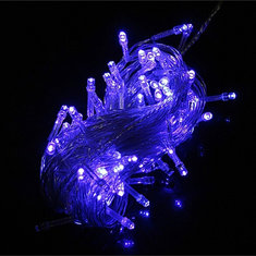 100 LED 10M Blue LED String Light Christmas Party Decoration 110V/220V