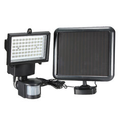 Motion Sensor Solar Power Ultra Bright Security LED Light Flood Lamp