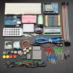 Geekcreit® UNO R3 Basic Learning Starter Kits Upgrade Version For Arduino