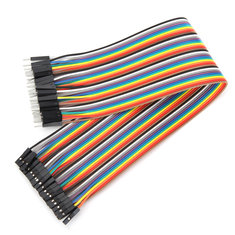 40pcs 30cm Male To Female Jumper Cable Dupont Wire For Arduino