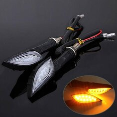 Universal Motorcycle Amber Indicator LED Turn Signal Light
