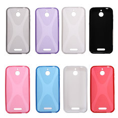 X Line Ultra Thin Soft TPU Silicone Gel Case For HTC Desire 510