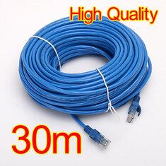 30M 100 FT RJ45 CAT5 CAT5E Ethernet LAN Network Cable