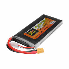 ZOP Power 7.4V 5000mAh 75C 2S Lipo Battery XT60 Plug for RC Racing Drone