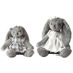 32/45cm Rabbit Stuffed Animal Anne & Abby Cartoon Plush Toy Cute Bear Doll for Kids Baby Christmas Birthday Gifts