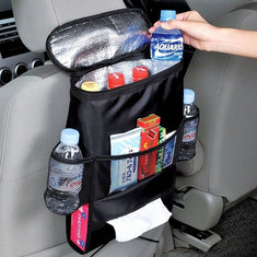 Multifunction Car Travel Seat Storage Bag Cold Insulation Pack Auto Multi-Pocket