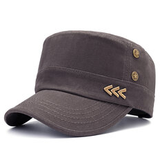 dc16c940912 ... Winter Middle-Aged Men Cotton Patchwork Military Army Cap