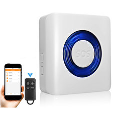 SA-1168-T0 Smart 433MHz WIFI Home Security Alarm System APP RC For Alexa/Echo/Google Home