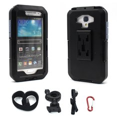 IPX8 Waterproof Pouch Bag Case Bike Phone Mount Holder For Samsung Galaxy S5