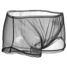 Sexy Mens See Through Underpants Mesh Briefs Fashion Transparent Underwear