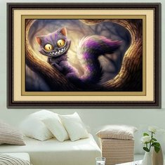 DIY 5D Diamond Embroidery Cat Diamond Painting Cross Stitch Kits Home Decor