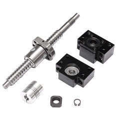 SFU1605 200mm Ball Screw with BK12 BF12 Support and Coupler