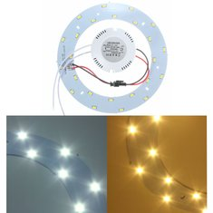 12W 5730 SMD LED Panel Circle Annular Ceiling Light Fixtures Board