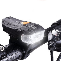 Smart Light Sensor LED Bike Headlight Bicycle Front Rear Lamp USB Rechargeable