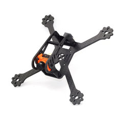 FlyFox No.5 135mm 3 Inch Carbon Fiber RC Drone FPV Racing Frame Kit 22g
