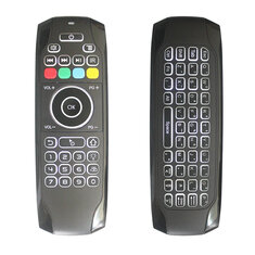 G7 2.4G Wireless White Backlit Air Mouse Keyboard For Smart TV/Android Box/Xbox/Laptop/Projector